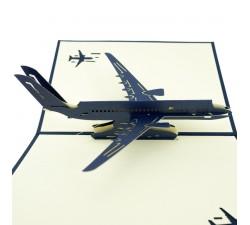 3D přání - Letadlo