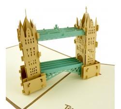 3D přání - Tower Bridge