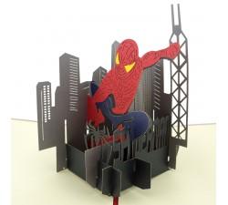 3D blahoželanie - Spiderman