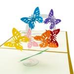 3D přání - Motýli