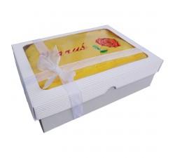Dárková krabice s ručníkem