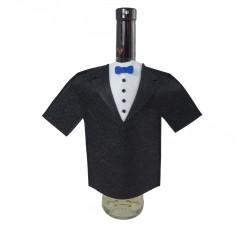 Oblek na lahev vína - smoking