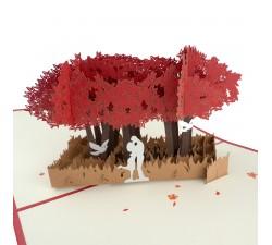 3D želanie - pár pod vŕbou