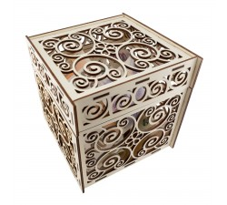 Dekorativní krabička na svatbu