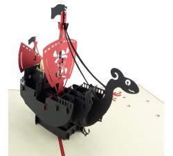 3D přání - Pirátská loď