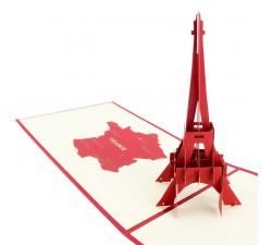 3D želanie - Eiffelova veža