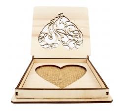 Svatební krabička na prstýnky
