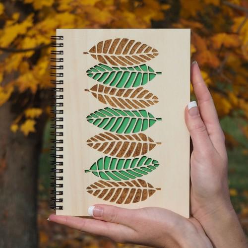 Dřevěný blok - Listy