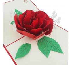 3D přání - Květ
