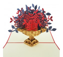 3D přání - Kytice