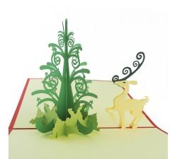 3D přání - Vánoce