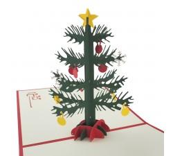 3D přání - Vánoční stromeček