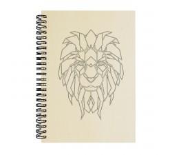 Dřevěný blok - Lev
