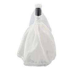 Oblek na lahev vína - nevěsta
